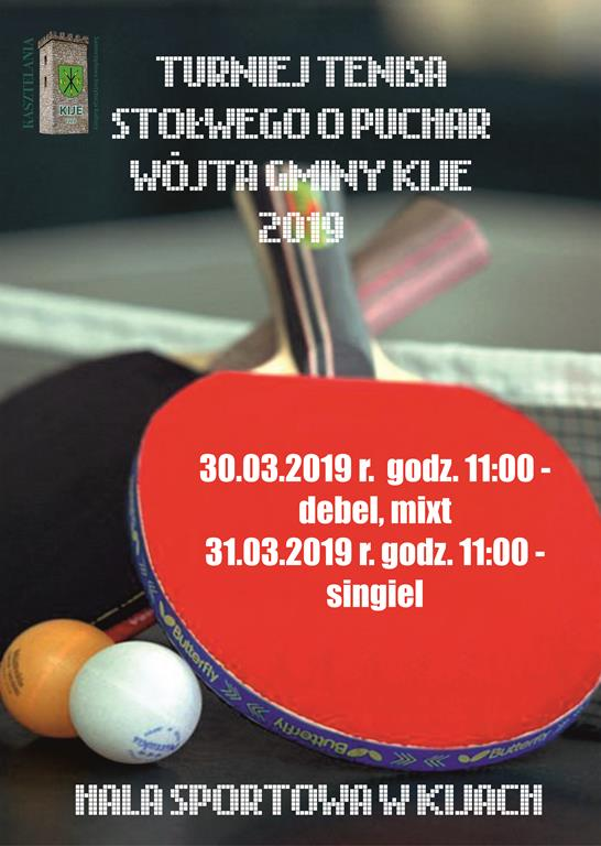 plakat turniej tenis2018