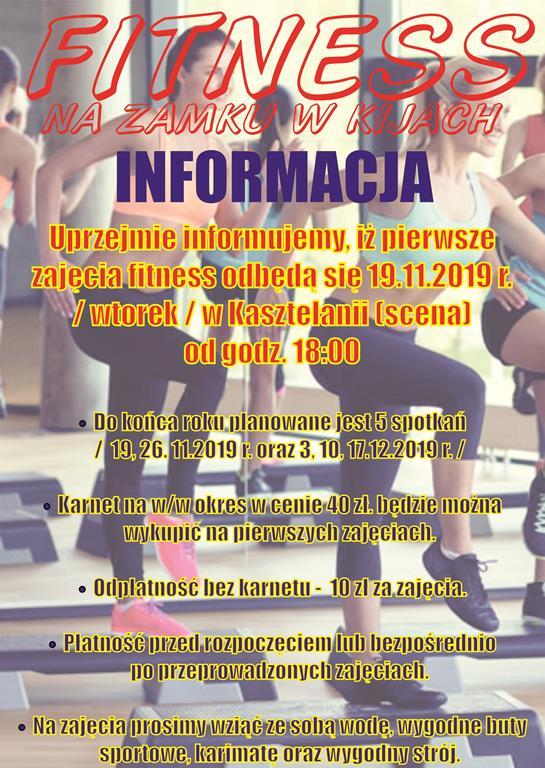 informacja fitness 2019