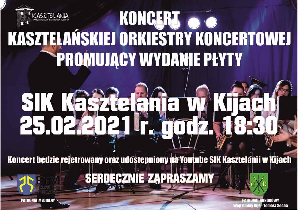 zaproszenie na koncert Copy